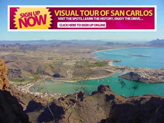 Visual Tour San Carlos Mexico
