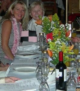 Janey & Mom Blackies 2010