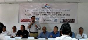 Mayor Otto Claussen & SCPE President Hugo Delgado
